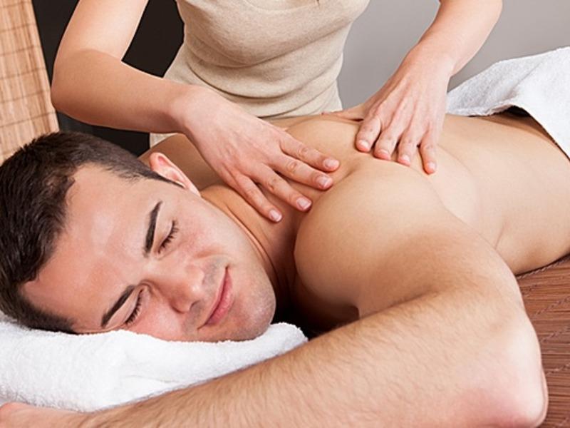 массаж с глубокой проработкой мышц